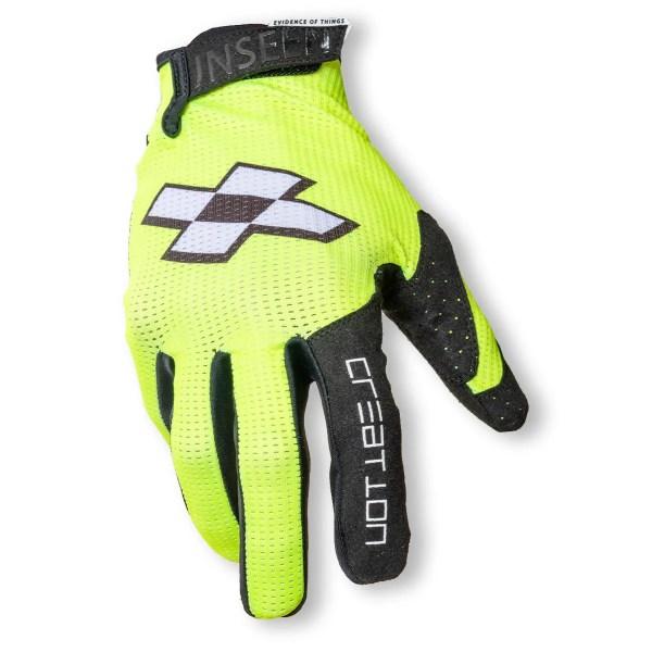 Faith Race Creation BMX Glove Fluro Front 1
