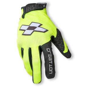 Faith Race Creation BMX Glove Fluro Front 1