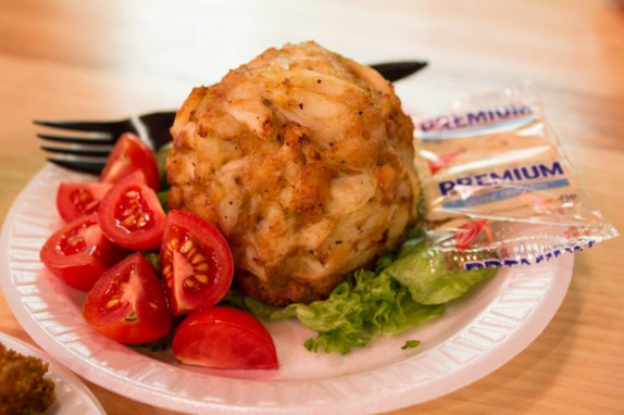 Faidley's Seafood crabcake