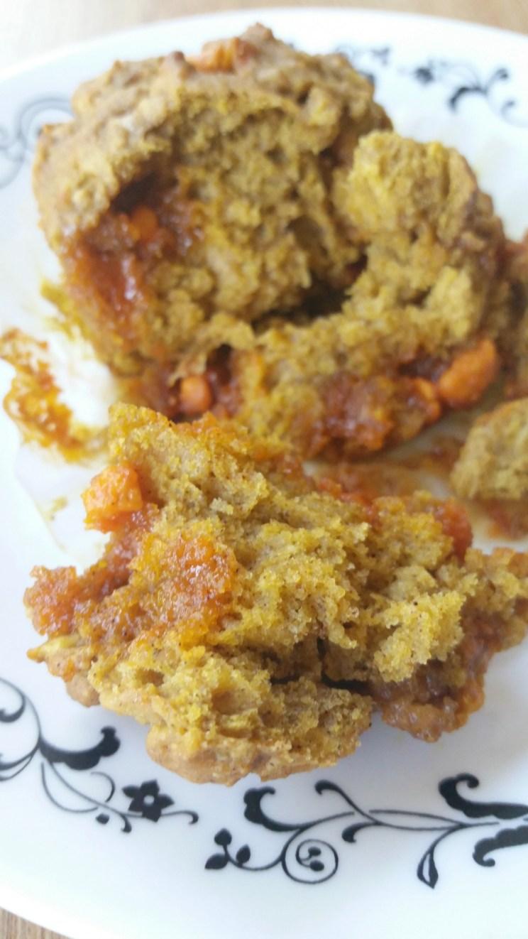 Pumpkin Muffin Close-up