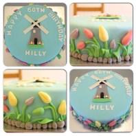 Custom-design 'Dutch Lady' Cake
