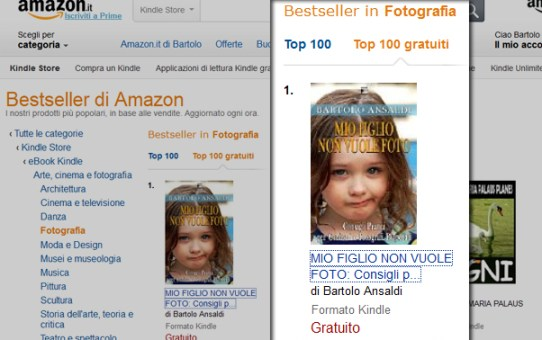 MIO FIGLIO NON VUOLE FOTO - PRIMO SU AMAZON!
