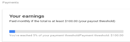 Batas Pembayaran Minimal Google Adsense usd
