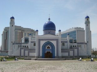 Manjali Mosque in Atyrau - Kazakhstan