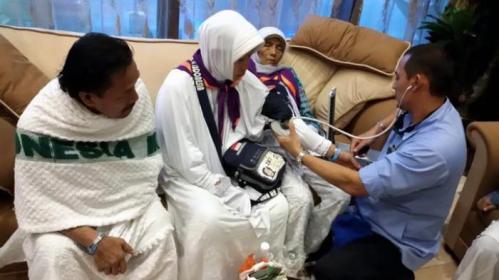 Passpod, Haji, Kesehatan Ibadah Haji