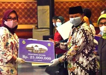 Kota Cirebon Raih Penghargaan Swasti Saba Wistara