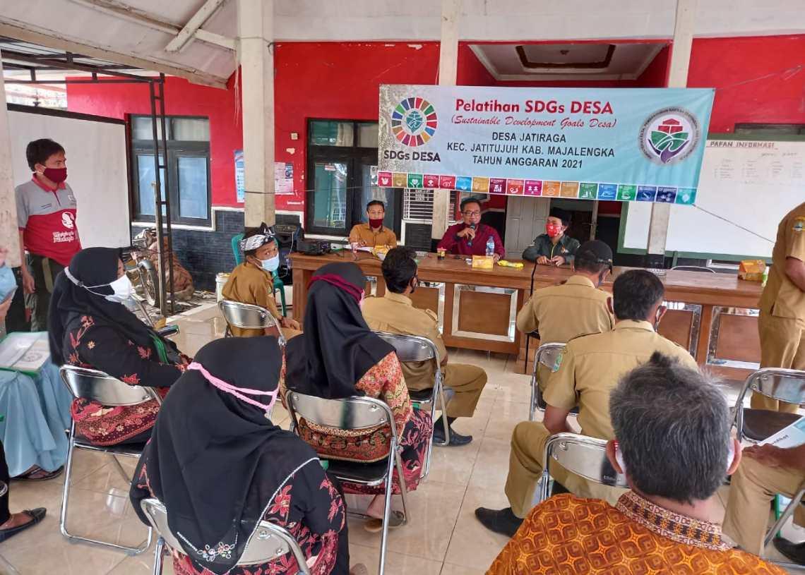 Pemdes Jatiraga Gelar Bimtek Pemutakhiran Data Berbasis SDGs
