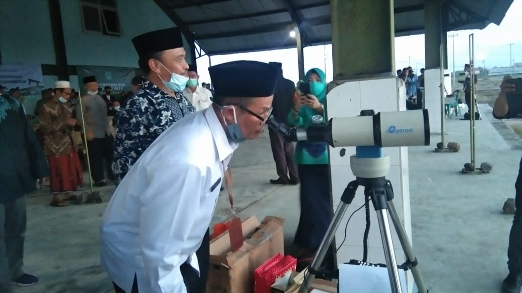 Badan Rukyatul Hilal Daerah (BRHD) Kabupaten Cirebon memastikan awal Ramadan tahun 2021 jatuh di hari