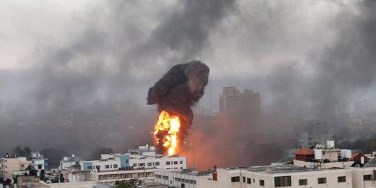 serangan israel ke gaza. ©2021 REUTERS