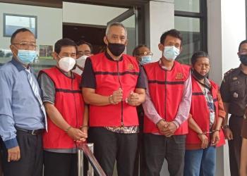 Jelang Lebaran Mantan Kadis LH Ditahan Kasus Korupsi