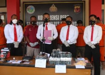 Polres Majalengka Bekuk Empat Pelaku Penyalahguna Narkotika