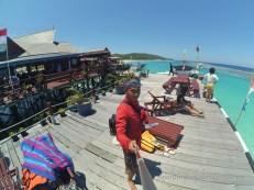 Selfie di Maratua Paradise Resort