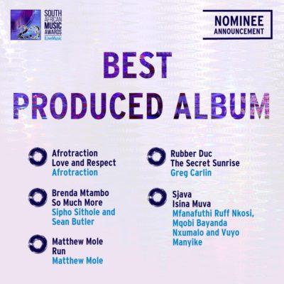 South African Music Awards 2016 - Full Nominee List #SAMA23 8