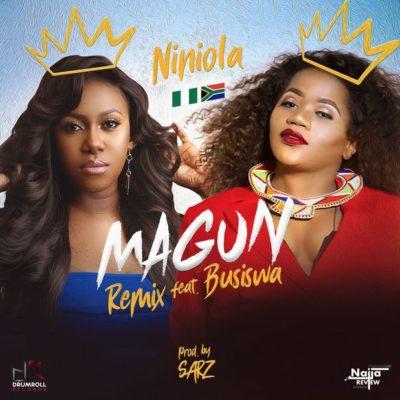 Niniola - Magun (Remix) ft Busiswa