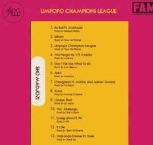 DOWNLOAD mp3 Album: Sho Madjozi Limpopo Champions League Album Zip & mp3 download