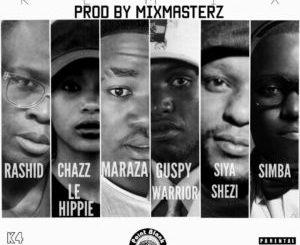Download Mp3: RashidKay – Let's All Get Down Ft. Chazz Le Hippie, MarazA, Siya Shezi, Simba & Guspy Warrior (Remix)