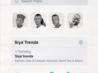 VIDEO: Kammu Dee – Siya Trenda Ft. Cassper Nyovest, Semi Tee & Miano