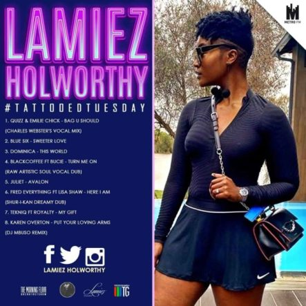 Lamiez Holworthy – TattoedTuesday 57 (The Morning Flava Mix)