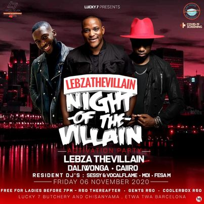 Lebza TheVillain – YTKO 30 Oct Mix