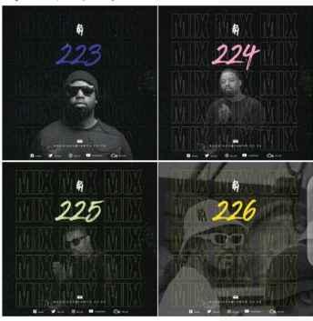 DJ PH – 4 Mixes (223)