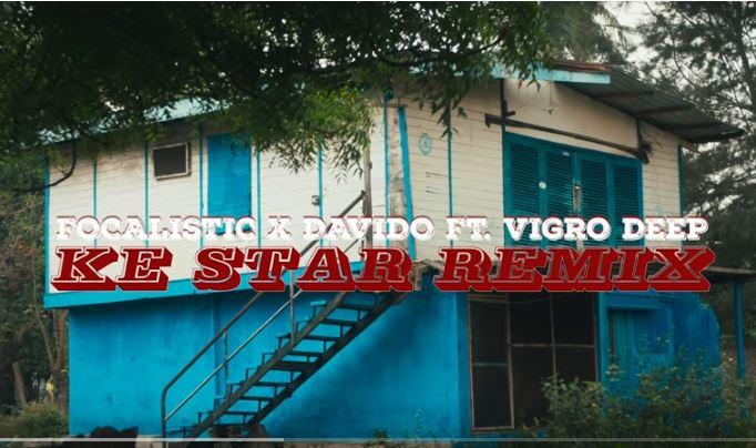 Focalistic – Ke Star Remix Ft. Davido Download Mp3