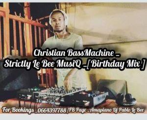 Pablo Le Bee, Strictly Le Bee MusiQ (Birthday Mix), mp3, download, datafilehost, fakaza, DJ Mix