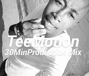 Tee Motion, 30 Min Production Mix (Vol 1), mp3, download, datafilehost, fakaza, DJ Mix