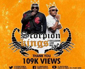 Dj Mahorisa, Kabza De Small, Scorpion Kings Exclusive Live Mix 3, mp3, download, datafilehost, toxicwap, fakaza