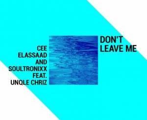 Cee ElAssaad & Soultronixx – Don't Leave Me (feat. Unqle Chriz)-fakazahiphop