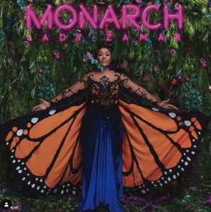 Lady Zamar – Monarch (Cover Artwork + Tracklisting)
