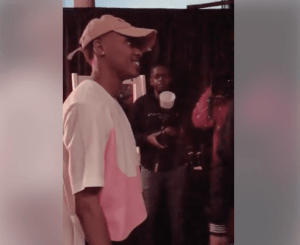 Watch as A-Reece Meets Sway Calloway at the Sway cold Cyphers