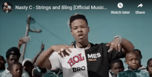 Nasty C – Strings and Bling [Official Music Video]
