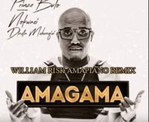 Prince Bulo – Amagama (William Risk Amapiano Remix) Ft. Nokwazi Dlamini, Dladla Mshunqisi