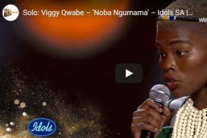 Viggy Qwabe – Noba Ngumama (Idols SA)