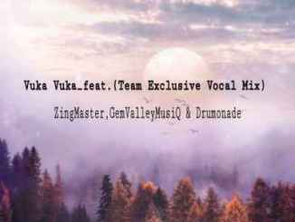Gem Valley musiQ, Zing Mastar & Drumonade – Vuka Vuka (Vocal Mix) Ft. Team Exclusive