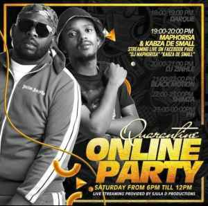 DJ PH – SA Quarantine Online Party Pt 3 Mix