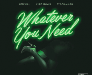 Meek Mill Ft. Chris Brown & Ty Dolla $ign – Whatever You Need
