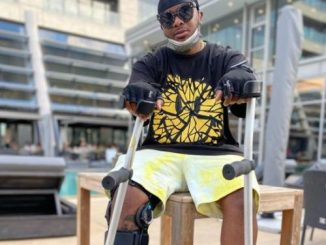 Major League's Bandile works from wheelchair (Video)