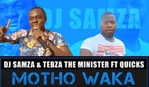 Tebza Mashao & Dalinzo – Motho Waka Ft. Moruti Piano (Original)