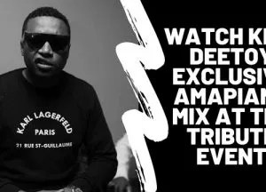 King Deetoy – Exclusive Amapiano Mix
