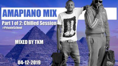 Amapiano Mix (Part 1 of 2) Mp3 Download ft. Gaba Cannal, Loxion Deep, Miano, P Man SA Mixed by DJ TKM