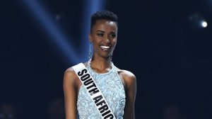 Miss Universe Zozibini Tunzi Joins Phoyisa Challenge