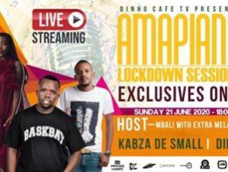 Kabza De Small & Dinho Amapiano Lockdown Session Mp3 Download Fakaza