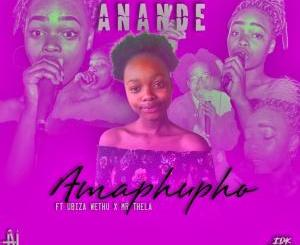 DOWNLOAD Anande Amaphupho Ft. Biza Wethu & Mr Thela Mp3 Fakaza Music