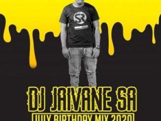 DOWNLOAD Dj Jaivane July Birthday Month 2020 (2Hour Live Mix) Mp3 Fakaza