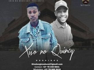 Xivo no Quincy Mix To Zibonele FM Mp3 Download Fakaza
