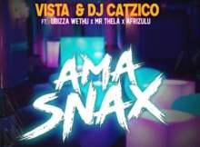Fakaza Music Download Vista & Dj Catzico Ama Snax Ft. Ubizza Wethu, Mr Thela & Afrizulu Mp3