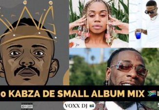 Fakaza Music Download New Kabza De Small Album Mix: King of Amapiano 2020 Ft Burna Boy, Sha Sha, Wiz Kid, Dj Maphorisa Mp3