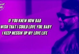 Download Usher Bad Habits (Lyrics) Mp3 Download