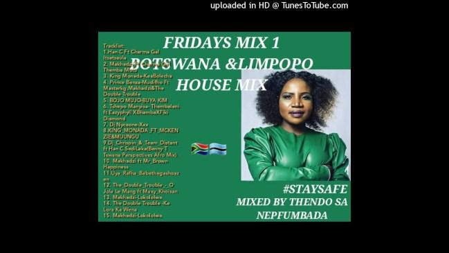 Thendo SA Fridays Mix 1 Limpopo House Botswana Mp3 Download fakaza